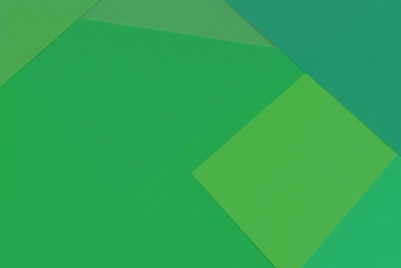 シンプルな緑の無地壁紙