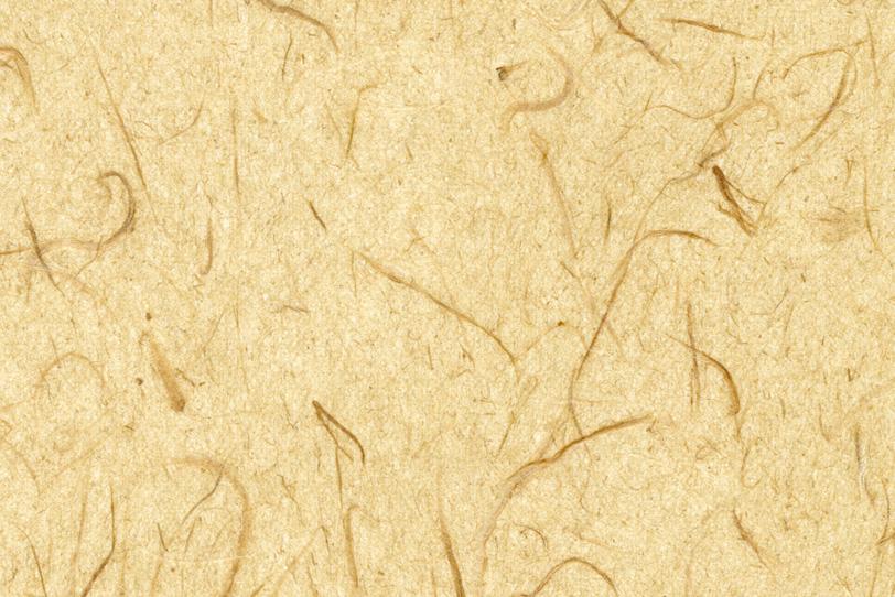 素朴な風合いの砥粉色の和紙の写真画像