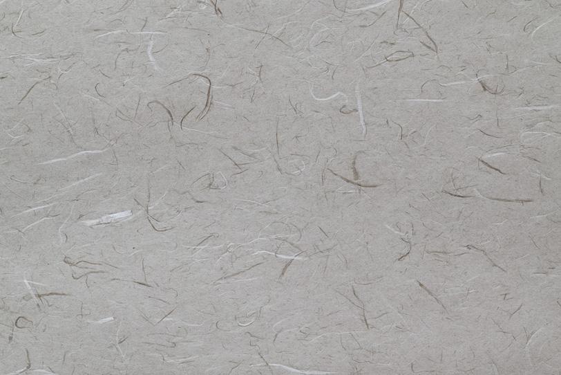 楮のテクスチャがある灰色の和紙の写真画像
