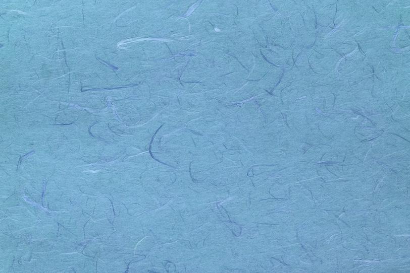 涼しさを感じる水色の雲龍和紙の写真画像