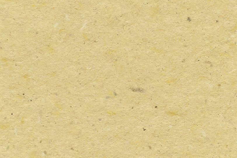 ザラザラとした麦藁色の山根和紙の写真画像