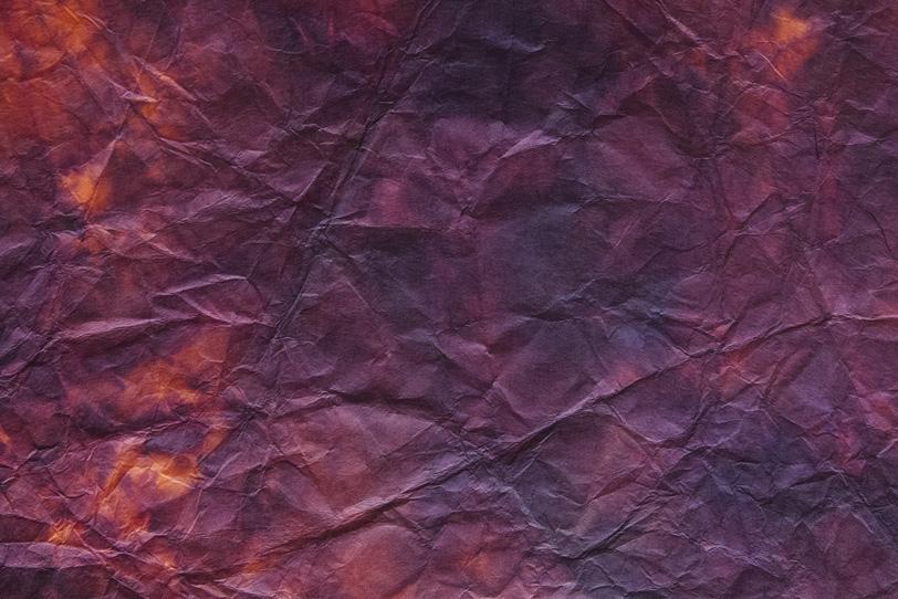 荒い皺のテクスチャがある斑色の和紙の写真画像