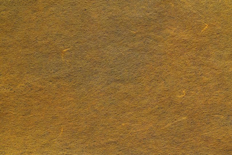 僅かに筋がある唐茶色の和紙の写真画像