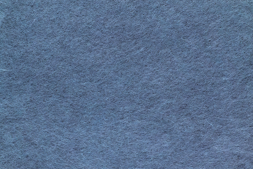 くすんだ露草色の極薄和紙の写真画像