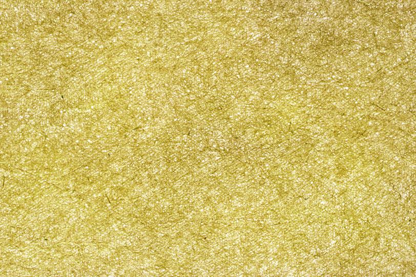 黄金色の極薄和紙の写真画像