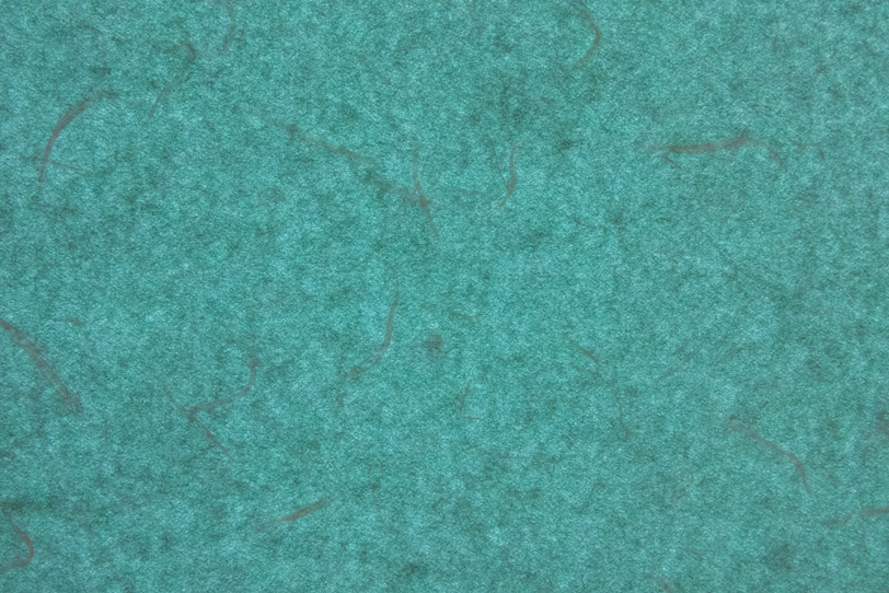 楮と斑のある御納戸色の和紙の写真画像