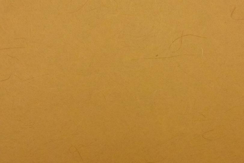 素朴な土色の地に楮がある和紙の写真画像