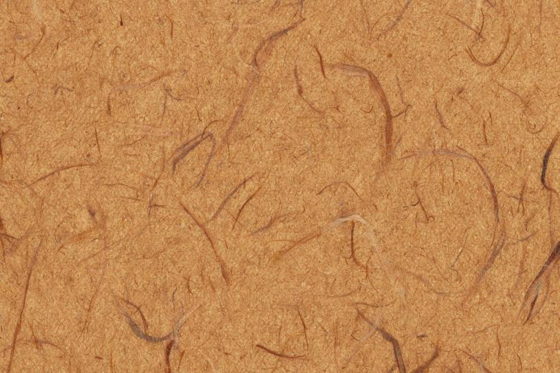 伽羅茶色の荒いテクスチャの雲龍和紙の写真画像
