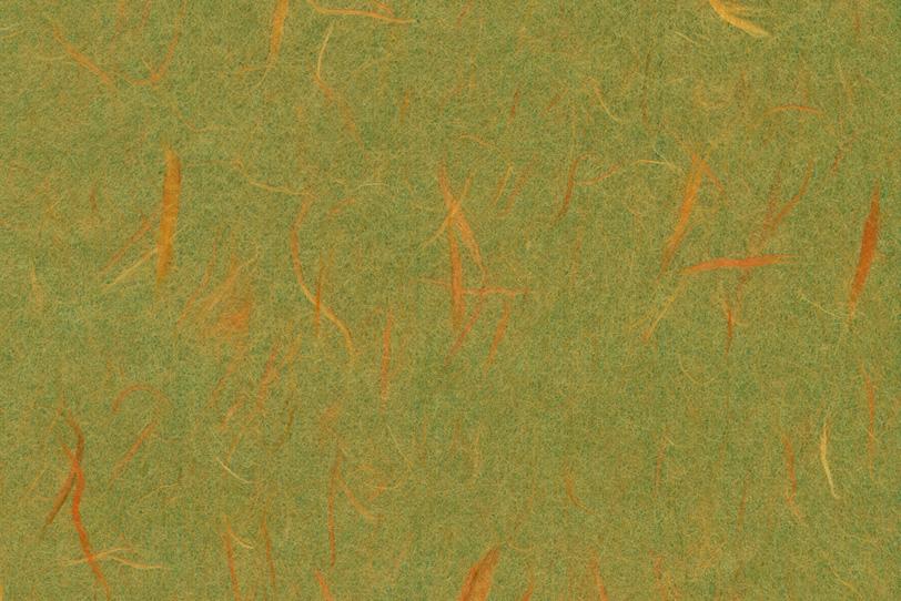 楮の模様が美しい鶯色の和紙の写真画像