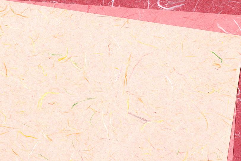 春らしいピンク系の和紙背景の写真画像