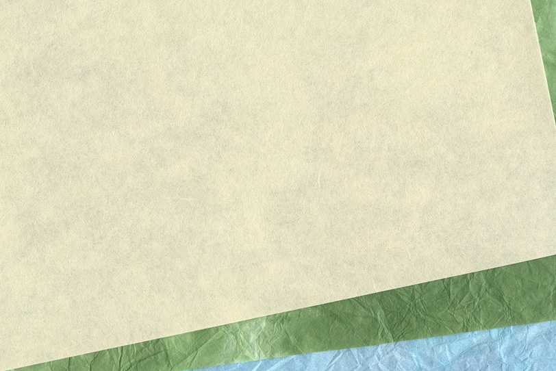 涼し気な夏をイメージする和紙の背景の写真画像