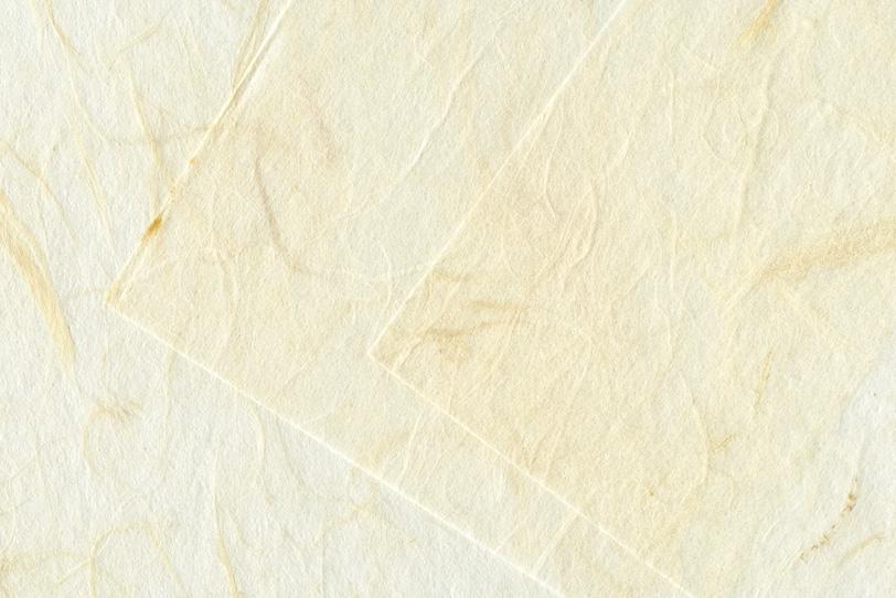 白い雲竜和紙を重ねた背景の写真画像