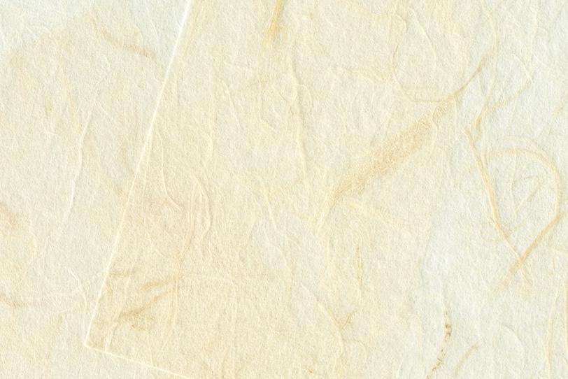 雲竜模様の白い和紙の背景の写真画像