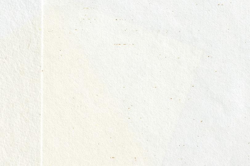 重ねた二枚の白い和紙の背景の写真画像