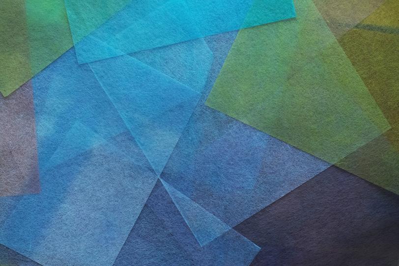 寒色系の極薄染和紙のテクスチャの写真画像