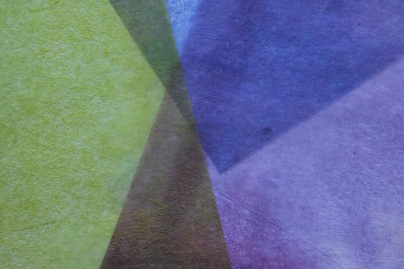 緑茶青の柔らかい質感の和紙の写真画像