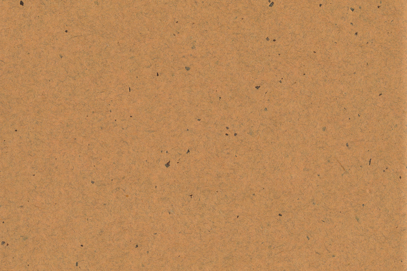 代赭色の皮模様のある和紙の写真画像