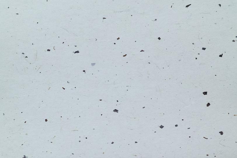 白銅色に染めた黒皮入和紙の写真画像