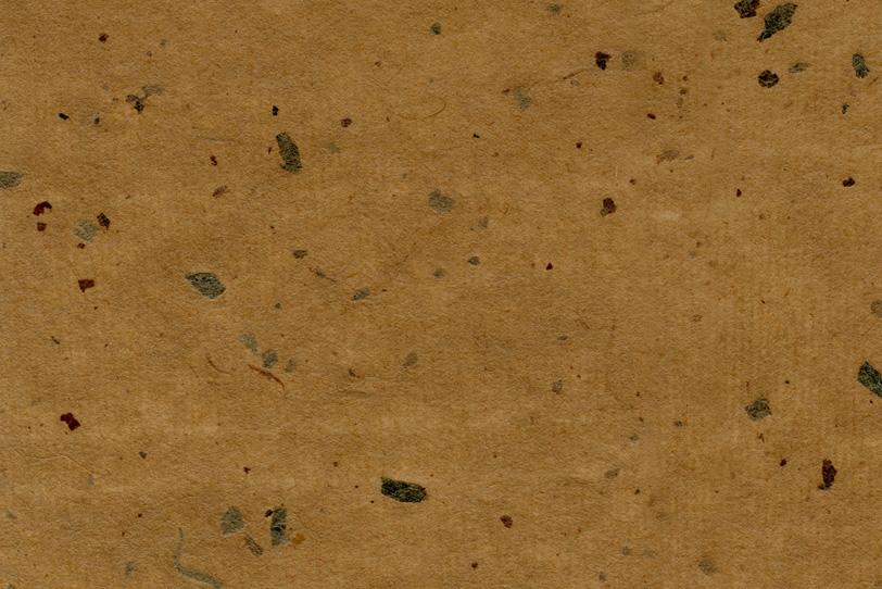 榛摺色の紙に皮筋が乱雑に入った和紙の写真画像