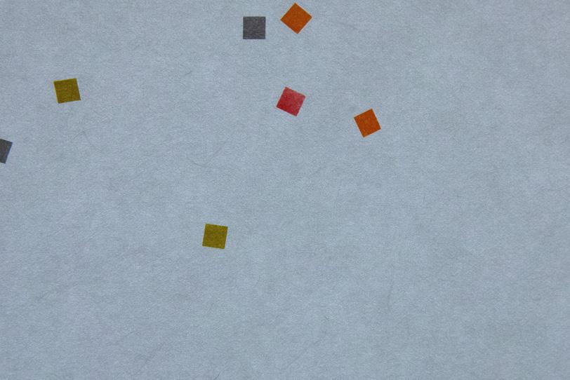 浅葱鼠の色柄模様がある和紙の写真画像