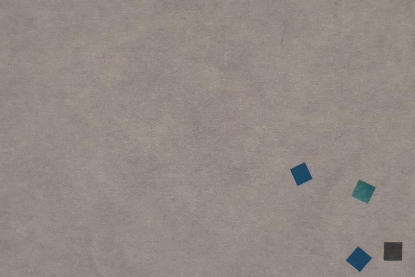 ふし色紙の角に模様がある和紙の写真画像