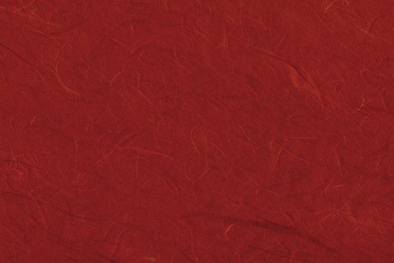 真紅の色鮮やかな雲龍和紙の写真画像