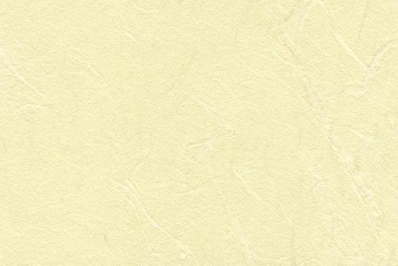 黄蘗色の優しい雰囲気の和紙の写真画像