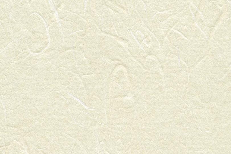生成色をした粗面の和紙の写真画像