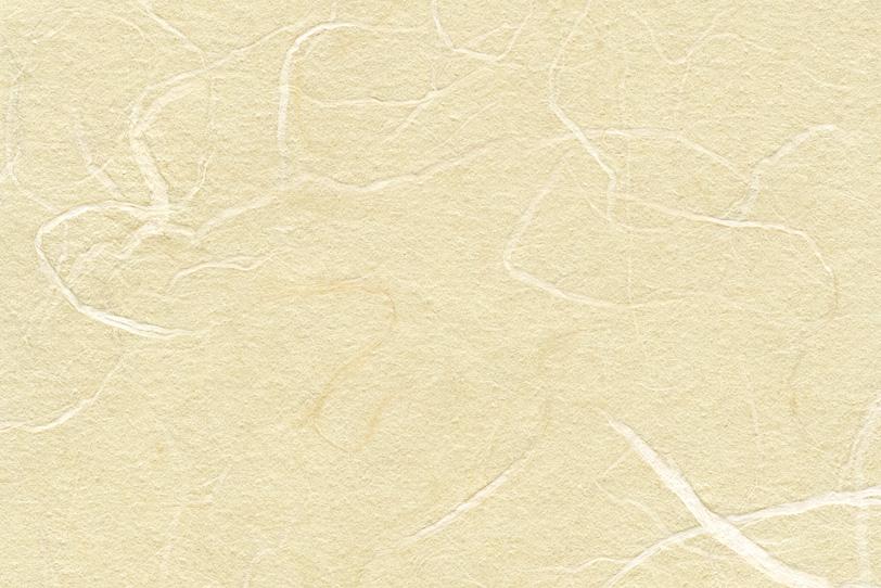 淡黄蘗色の和を感じる和紙の写真画像