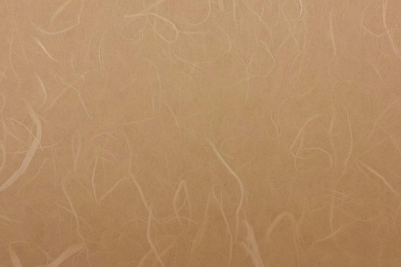 胡桃色の味わいのある和紙の写真画像