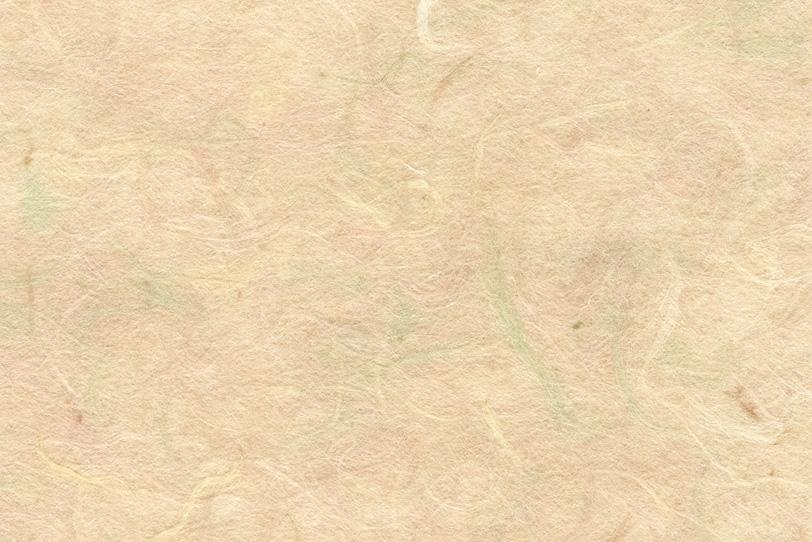 砥粉色の薄色筋が入った和紙の写真画像