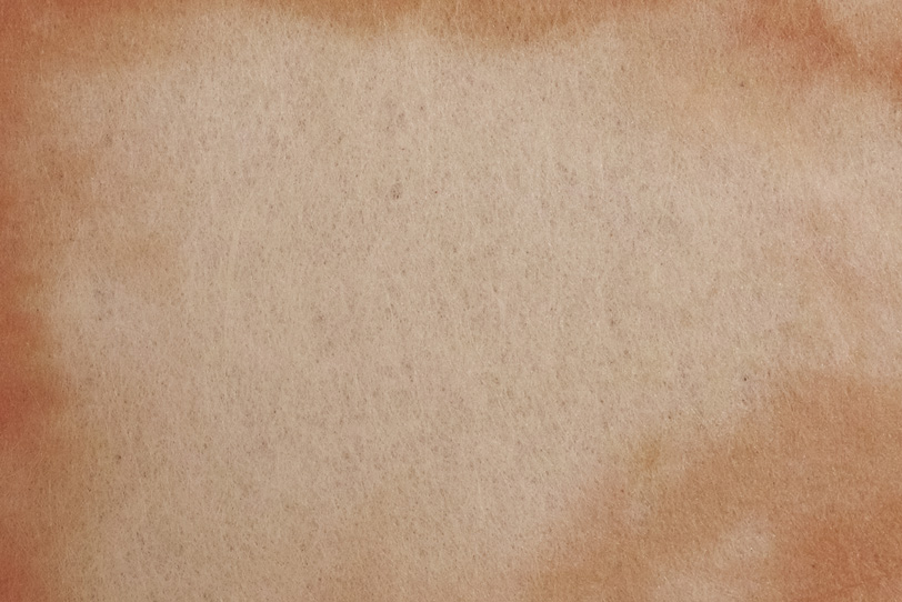 縁が茶色い亜麻色の和紙の写真画像