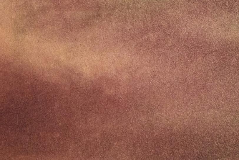 黄褐色の混濁した暈染和紙の写真画像