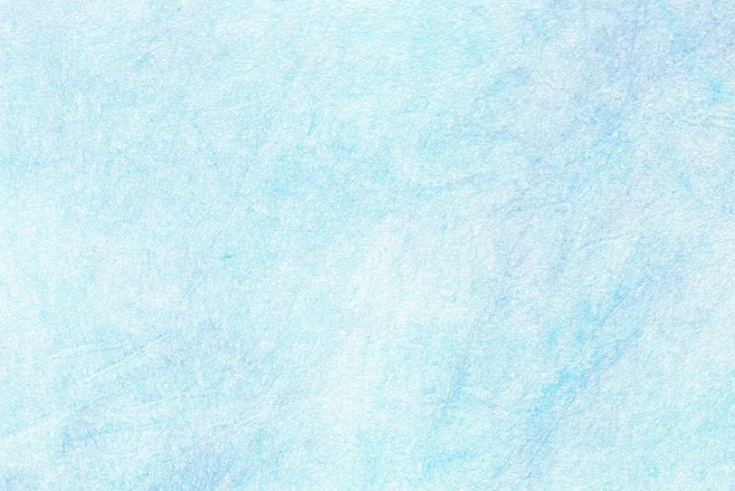 白の紙に水色が掠れた和紙の写真画像