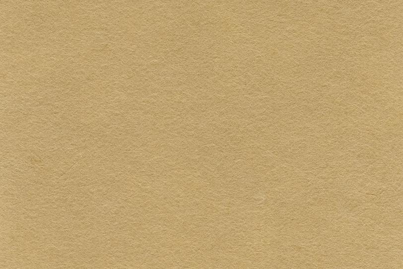 渋いイメージの黄橡色の和紙の写真画像