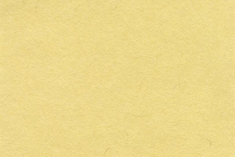 素朴な淡い玉蜀黍色の和紙の写真画像