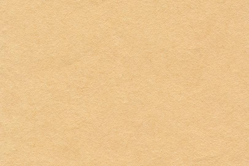 穏やかな萱草色の和紙の写真画像
