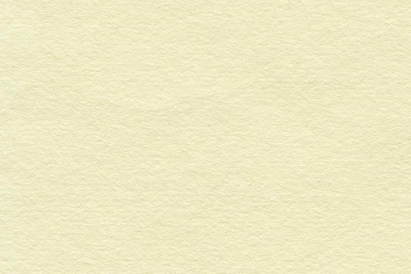 シンプルな淡黄蘗色の和紙の写真画像