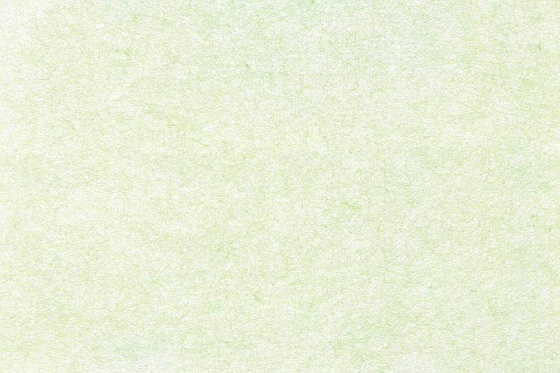 薄い緑がかった白色の和紙の写真画像