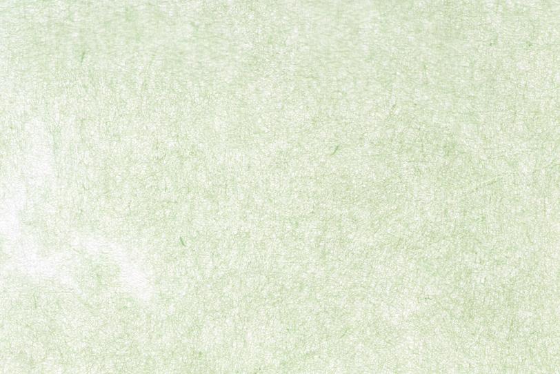 白に薄い緑色が掠れた和紙の写真画像
