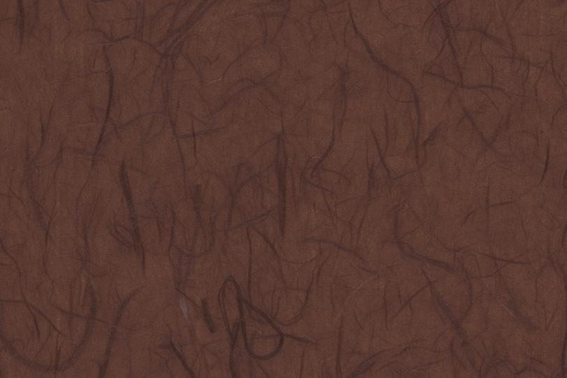 雲竜柄の渋みのある黒茶色和紙の写真画像