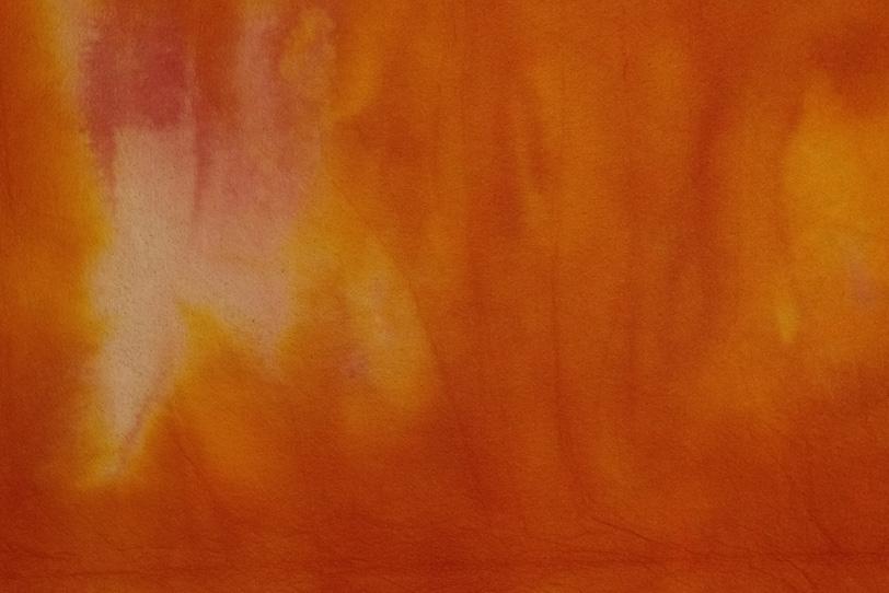 揺れる火群の様な暈染和紙の写真画像