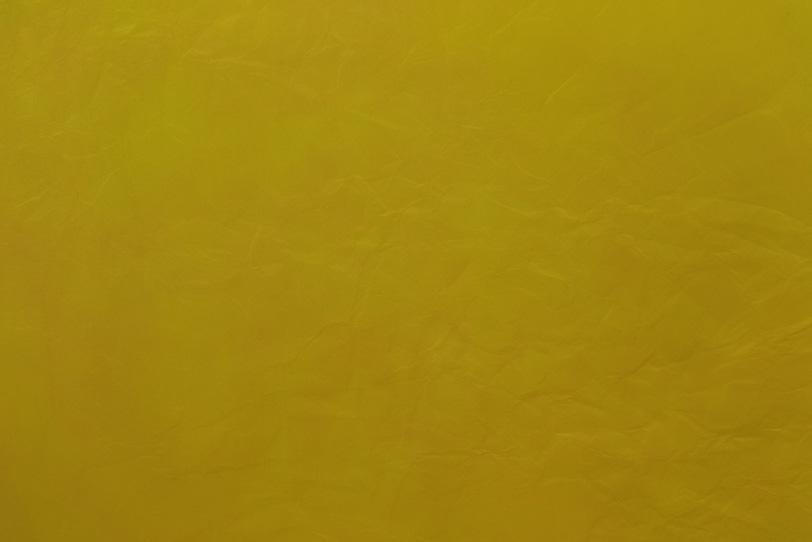 質朴な風合いの菜種油色和紙の写真画像