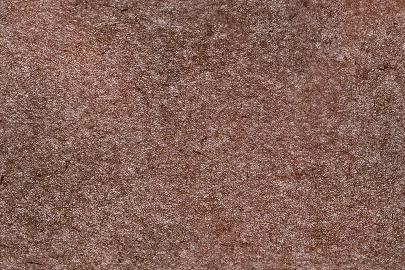 土のような焦茶色和紙の写真画像