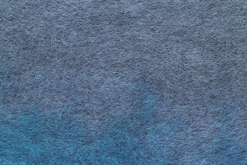 灰色と青藍色が滲む色染和紙の写真画像