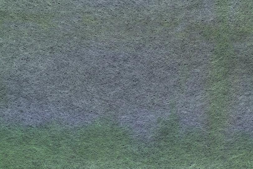 灰色に薄緑の斑模様の和紙の写真画像