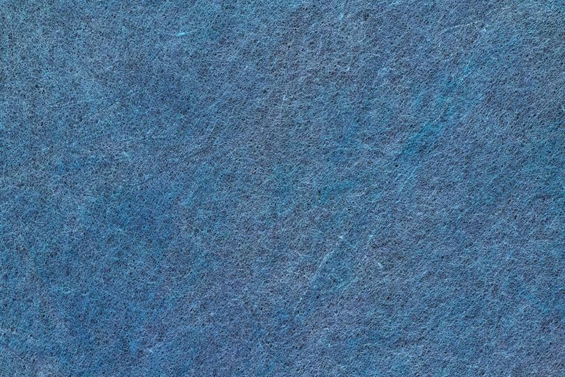深みのある青藍色和紙の写真画像