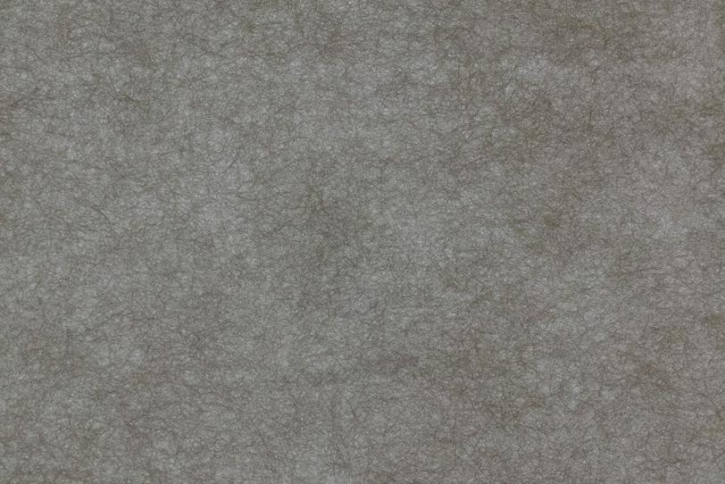 細い繊維が沢山ある薄墨色和紙の写真画像