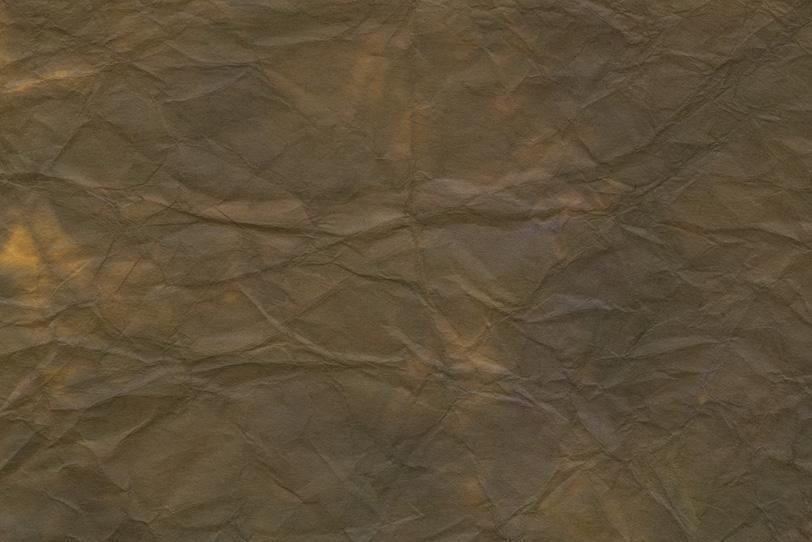 味わい深い涅色の揉染め和紙の写真画像
