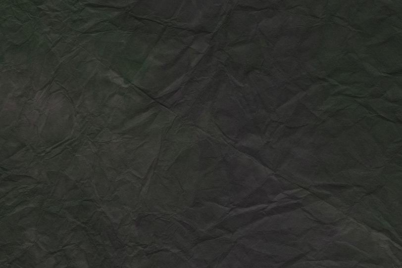 僅かに緑がかった黒色の揉染和紙の写真画像